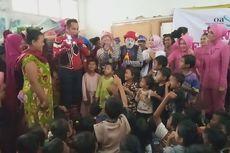 Brigadir Bayu, Spiderman yang Hibur Anak-Anak Korban Banjir Bogor