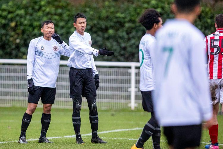Kakang Rudianto dan Dodi Irawan akan kembali dimainkan bersama pada laga Garuda Select vs Sheffield United U-19, Rabu (12/2/2020) setelah terakhir kali dipasangkan akhir tahun lalu.