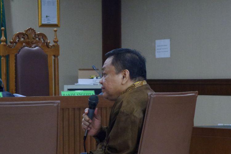 Deputi Informasi, Hukum dan Kerja Sama Badan Keamanan Laut (Bakamla) Eko Susilo Hadi menjadi terdakwa di Pengadilan Tipikor Jakarta, Senin (5/6/2017).