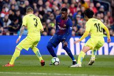 Hasil Babak Pertama Barcelona Vs Getafe, El Barca Unggul Dua Gol