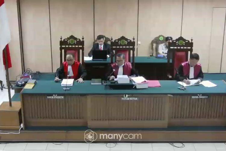 Sidang penyiram air keras Novel Baswedan di Pengadilan Neger Jakarta Utara, Kamis (19/3/2020)