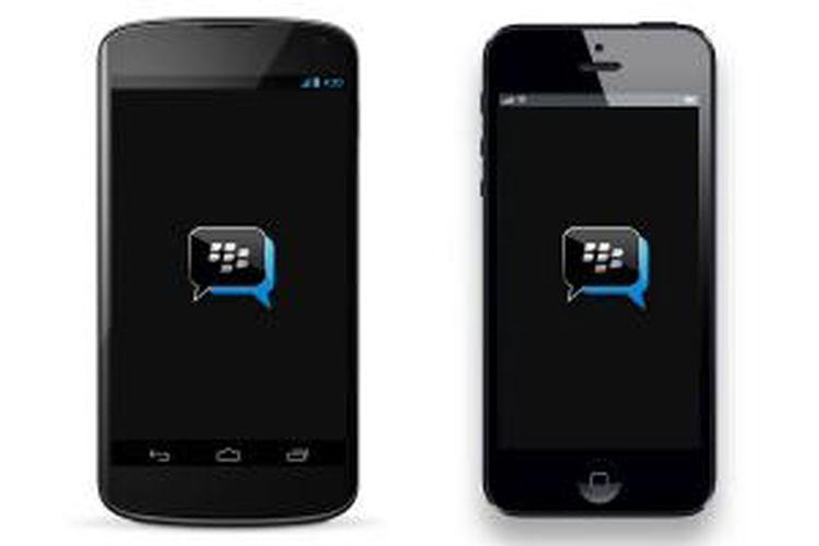 BlackBerry Messenger di Android dan iPhone