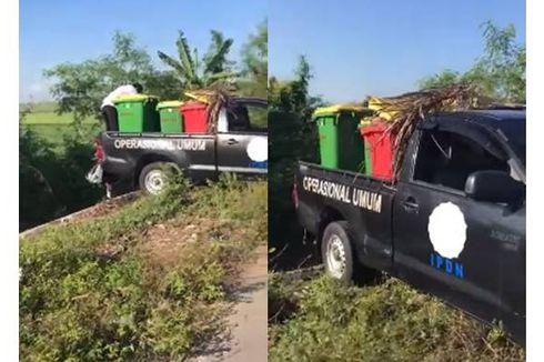Mobilnya Ketahuan Buang Sampah di Sungai, Ini Penjelasan IPDN