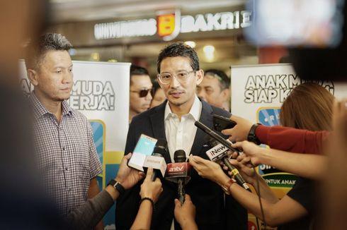 Sandiaga Uno: Kami di luar Pemerintahan, Jadi Mitra Penyeimbang