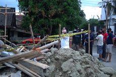 3 Pekerja Bangunan Tertimpa Reruntuhan Tembok, 1 Tewas, 2 Kritis