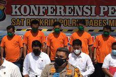 5 Pelaku Penyiraman Air Keras di Medan Ditangkap