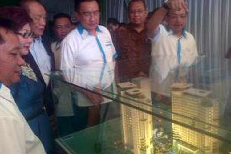 Taufik Zaenal, Direktur Wilayah Gapuraprima Group, pada