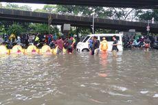 [UPDATE] Ini 24 Lokasi Banjir di Jakarta, Ketinggian Air Terparah 5 Meter
