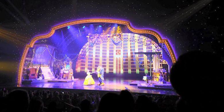 Mickey and The Magician Show di Disneyland Paris.