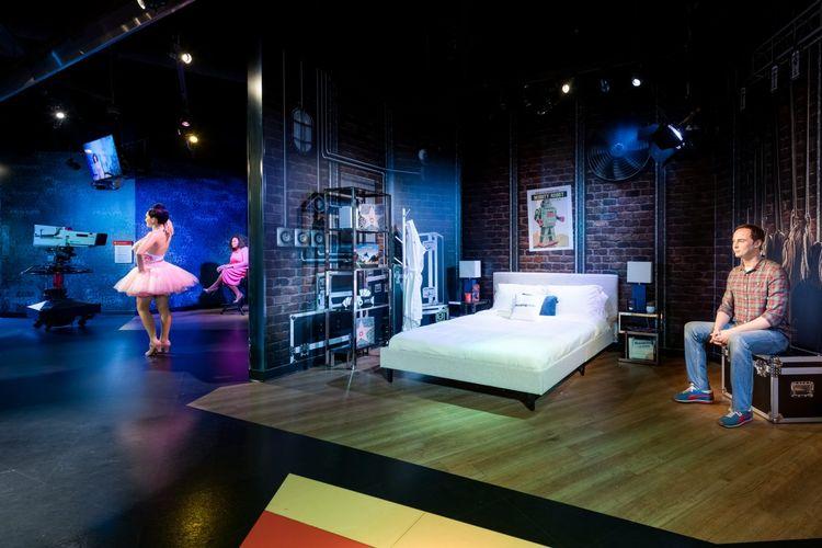 Salah satu ruang display di Madame Tussauds.