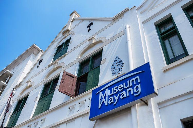 Museum Wayang yang berada di Kawasan Kota Tua Jakarta.