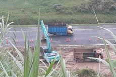 Longsor di Tol Ungaran, Kendaraan Dialihkan ke Jalan Nasional