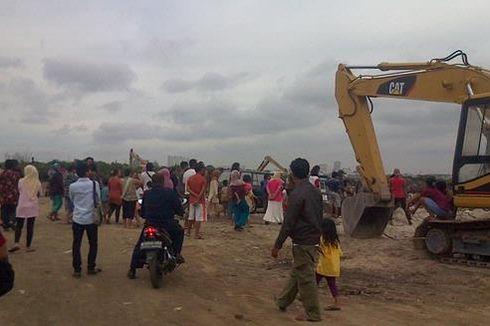 Pembongkaran Rumah Warga di Utara Waduk Pluit Distop Sementara