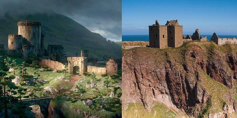 Dunnottar Castle, Skotlandia