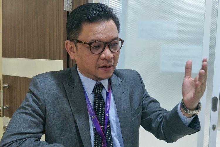 Wakil Ketua Komisi VIII Ace Hasan Syadzily saat ditemui di Kompleks Parlemen, Senayan, Jakarta, Senin (26/8/2019).