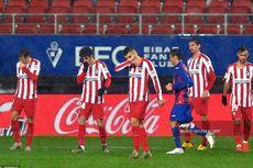 Hasil Eibar Vs Atletico Madrid, Kekalahan Pertama Atleti dari Eibar di LaLiga
