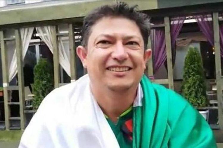 Antonio Garcia, penggemar berat timnas Meksiko.