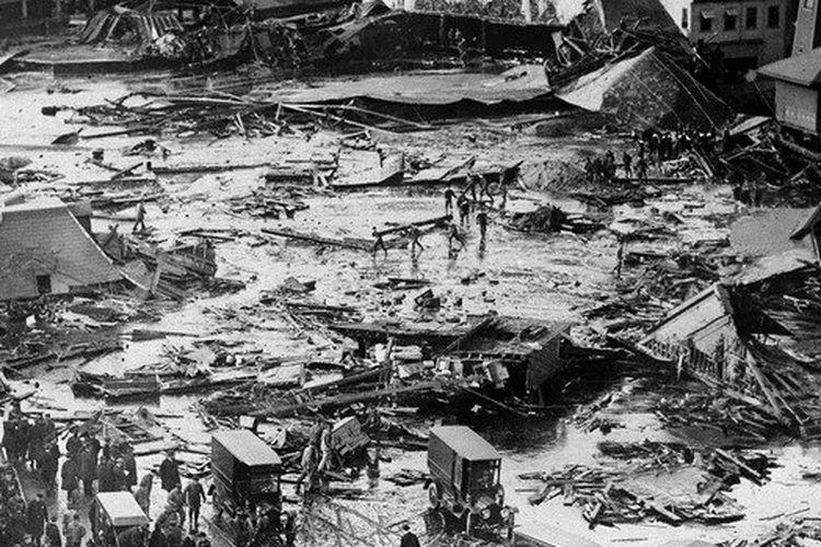 Insiden Tsunami Boston 1919