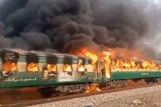 Kompor Meledak Saat Dipakai Memasak, 65 Orang Tewas dalam Kebakaran Kereta di Pakistan