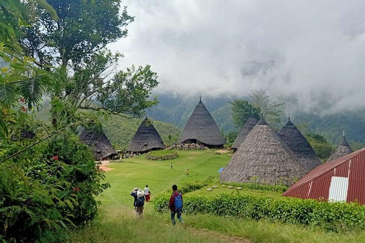 Kampung Wae Rebo, Manggarai, Nusa Tenggara Timur (Juli 2020)