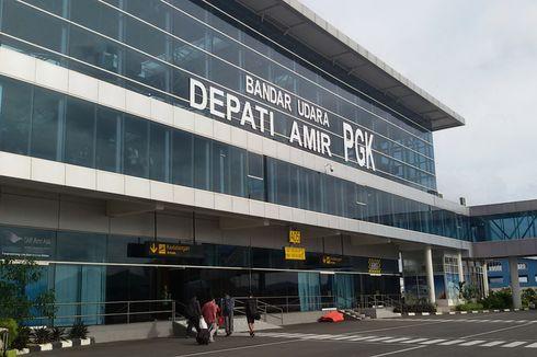 H-2 Lebaran, Penumpang Bandara Depati Amir Turun 30 Persen