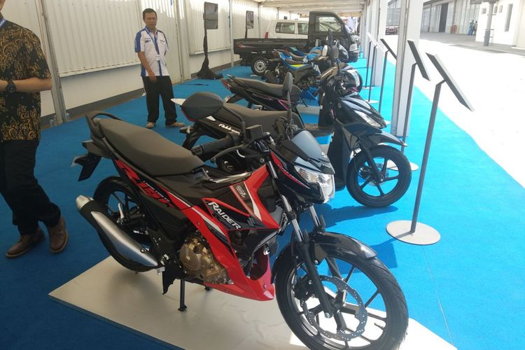 Suzuki roda dua juga diekspor ke mancanegara