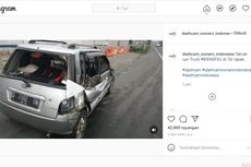 Truk Tabrak Daihatsu Ceria, Ingat Bahaya saat Keluar dari Rest Area