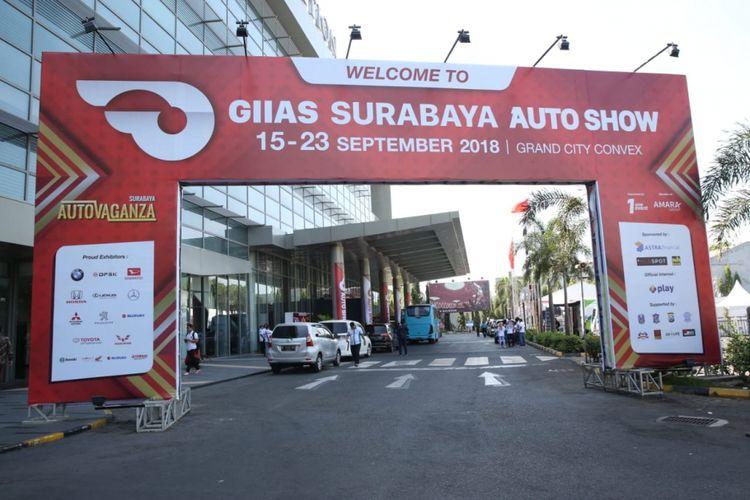 Roadshow pameran GIIAS berlanjut ke Surabaya dan tahun ini dihelat lebih lama dari biasanya, sampai sembilan hari.