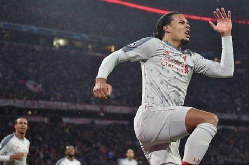 5 Pemain Tercepat di Liga Champions, Virgil van Dijk Teratas