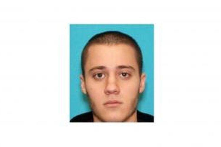 Paul Anthony Ciancia, tersangka tunggal penembakan di Bandara Internasional Los Angeles, Amerika Serikat, pada Jumat (1/11/2013).