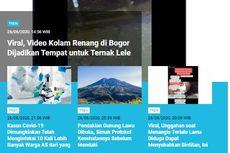 [POPULER TREN] Video Ternak Lele di Kolam Renang   Indonesia Jadi Episentrum Covid-19