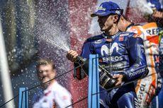 Vinales Akui Pertahankan Podium dari Rossi