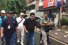 Erick Thohir Kunjungi Posko Banjir di Cengkareng dan Tangerang