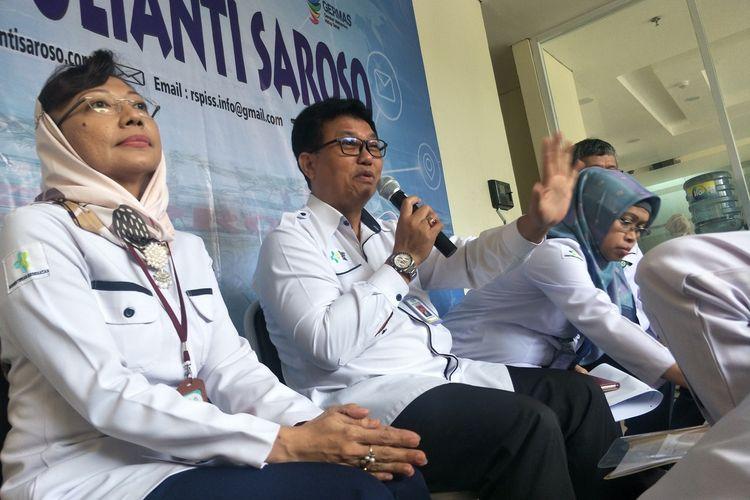 Direktur Utama RSPI Sulianti Saroso Mohammad Syahril, Kamis (5/3/2020)