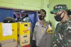 Ratusan Botol Miras Disita Saat Operasi Gabungan Jelang Lebaran di Subang