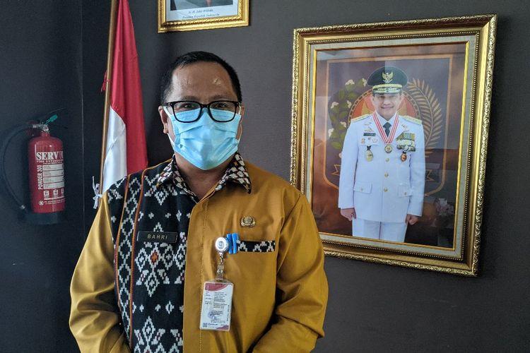 Direktur Keuangan Daerah Kementerian Dalam Negeri (Kemendagri) Bahri saat ditemui di Gedung H Lantai 9 Kemendagri, Selasa (22/12/2020)
