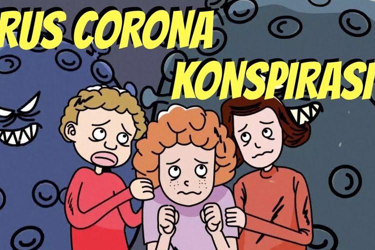 Thumbnail Video Teori-teori Konspirasi Sesat Seputar Corona.