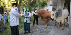 Pemkot Madiun Bagikan 3.000 Nasi Olahan Daging Kurban untuk Jaga Imunitas