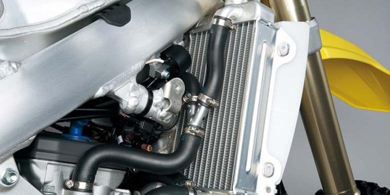 Radiator juga diperbarui dengan sistem pendinginan lebih efektif.