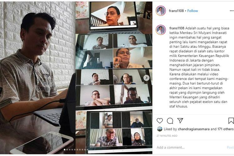 Instagram Nufransa Wirasakti