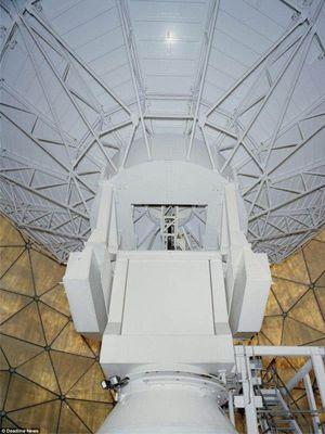 Selama 20 tahun, Radome berfungsi untuk mencegat komunikasi satelit, misalnya perintah peluncuran rudal balistik Rusia.