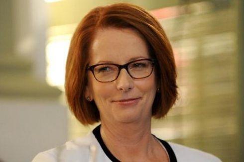 Tiket Pidato Julia Gillard Laris Manis