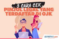 Tiga Cara Cek Pinjaman Online Legal atau Ilegal di OJK