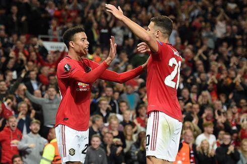 Hasil Liga Europa Grup A-L, Man United dan Arsenal Menang
