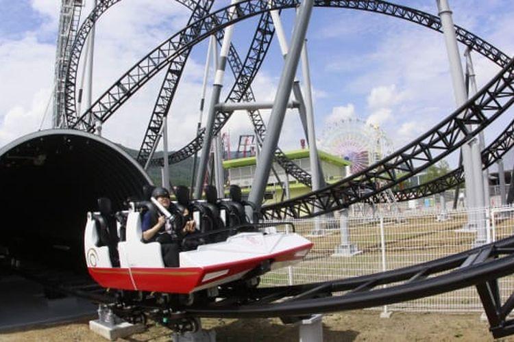 Takabisha, salah satu roller coaster paling menakutkan di dunia