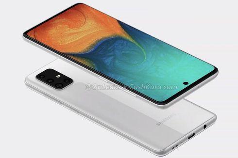 Bocoran Tampang Samsung Galaxy A71, Empat Kamera dan Layar