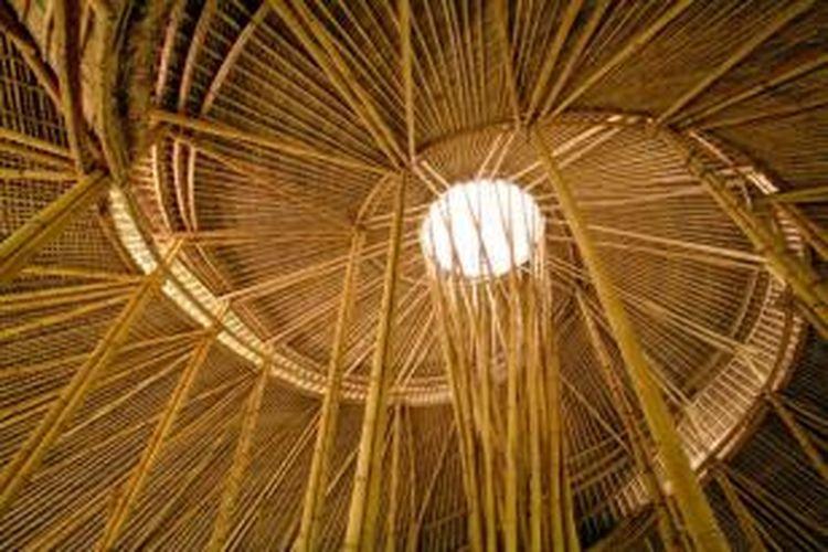 Bambu merupakan media kreatifitas yang dapat dimanfaatkan arsitek untuk merancang ulang