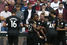 West Ham Vs Manchester City, Gabriel Jesus Bawa Tim Tamu Unggul