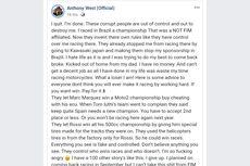 Rossi dan Marquez Dituduh Curang saat Balapan
