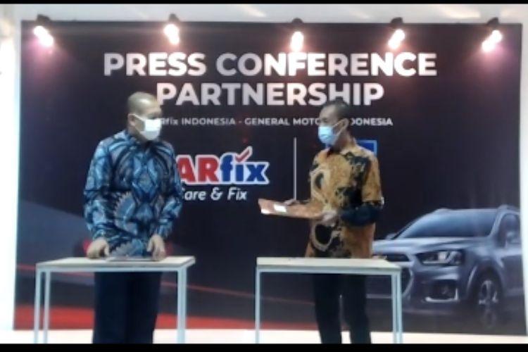 GM Indonesia kerjasama dengan Carfix